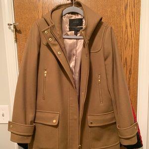 J CREW Italian Wool Coat